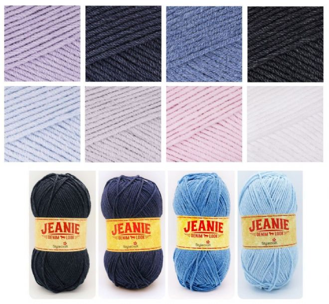 Stylecraft Jeanie Denim Look Aran 100g